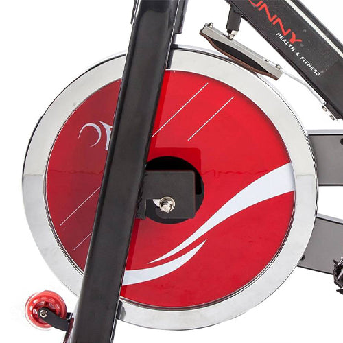sunny-health-fitness-bikes-belt-drive-indoor-cycling-bike-heavy-49lb-flywheel-SF-B1002-flywheel