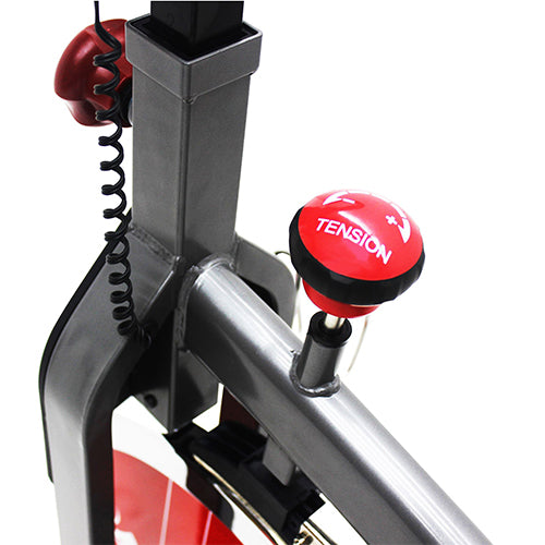 sunny-health-fitness-bikes-belt-drive-indoor-cycling-bike-lcd-monitor-SF-B1423-knob