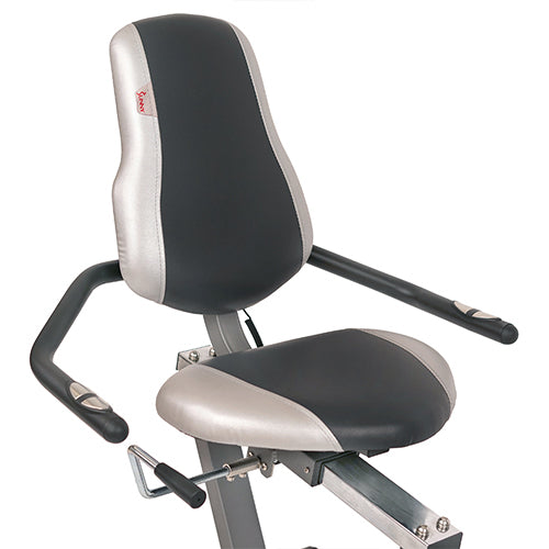 sunny-health-fitness-bikes-cross-trainer-magnetic-recumbent-bike-arm-exercisers-SF-RB4936-seat