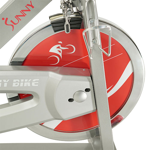 sunny-health-fitness-bikes-fitness-pro-II-indoor-cycling-bike-device-mount-advance-display-SF-B1995-flywheel