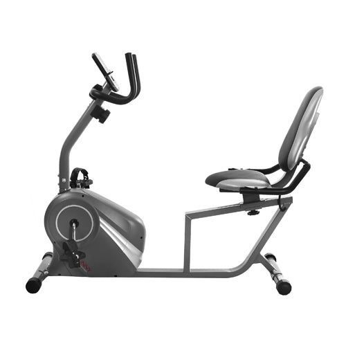 sunny-health-fitness-bikes-magnetic-recumbent-bike-with-soft-support-seat-SF-RB4876-durable-frame