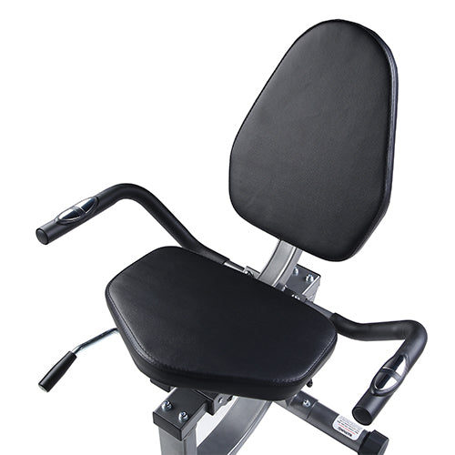 sunny-health-fitness-bikes-magnetic-recumbent-exercise-bike-300lb-capacity-easy-adjustable-seat-SF-RB4616-seat