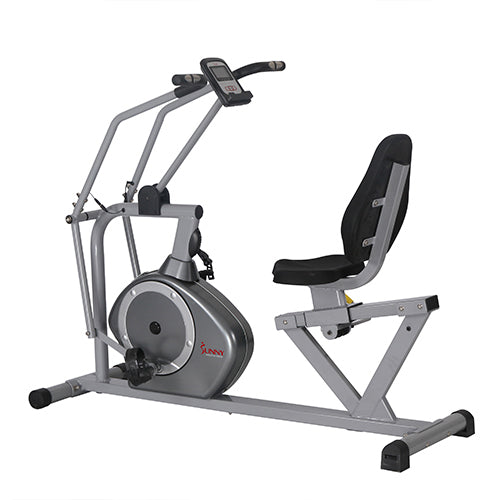 sunny-health-fitness-bikes-magnetic-recumbent-exercise-bike-350lb-high-weight-capacity-arm-exercisers-monitor-pulse-rate-SF-RB4708-resistance
