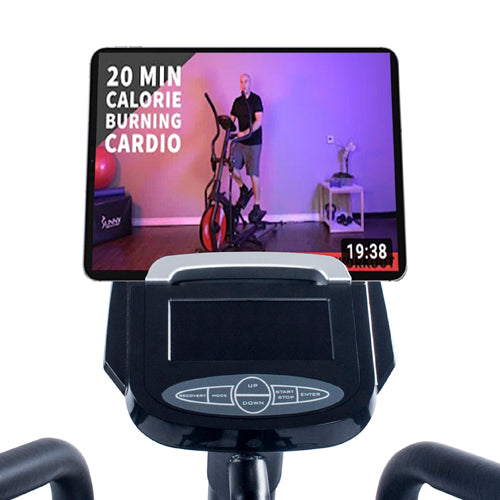 sunny-health-fitness-ellipticals-magnetic-elliptical-machine-tablet-holder-LCD-monitor-heart-rate-monitoring-stride-zone-SF-E3865-device-holder
