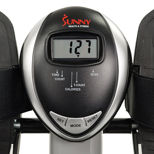 sunny-health-fitness-full-motion-rowing-machine-rower-350-lb-weight-capacity-LCD-monitor-SF-RW5639-monitor