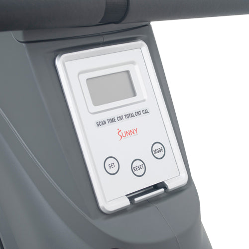 sunny-health-fitness-rowers-magnetic-rowing-machine-rower-11-lb-flywheel-LCD-monitor-tablet-holder-SF-RW5856-monitor