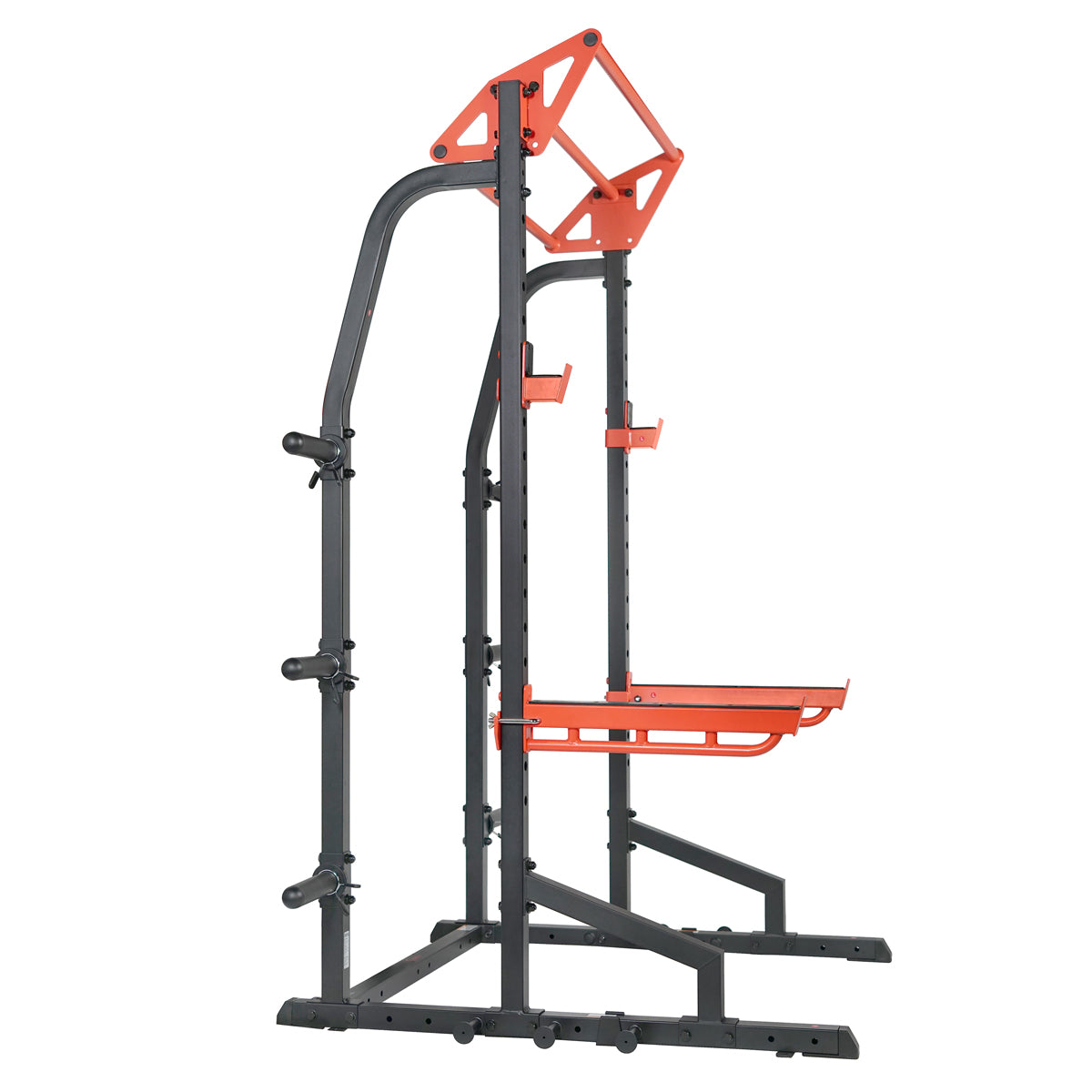 sunny-health-fitness-power-zone-half-rack-strength-cage-SF-XF9933-18-high-weight-capacity