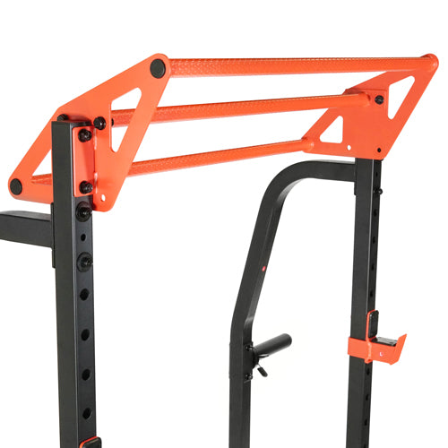 sunny-health-fitness-power-zone-half-rack-strength-cage-SF-XF9933-pull-up-bars