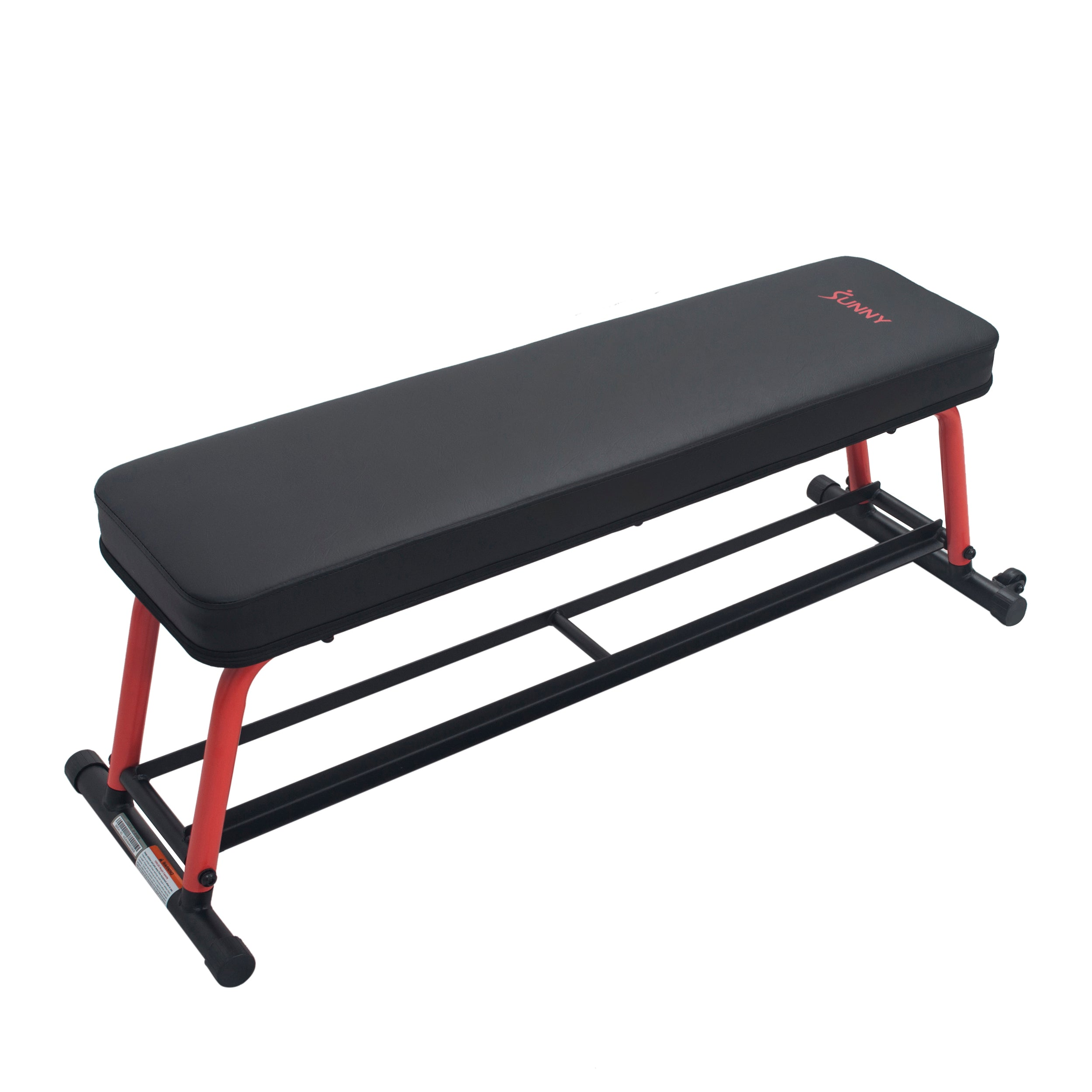 sunny-health-fitness-strength-power-zone-strength-flat-bench-SF-BH6996-solid-design