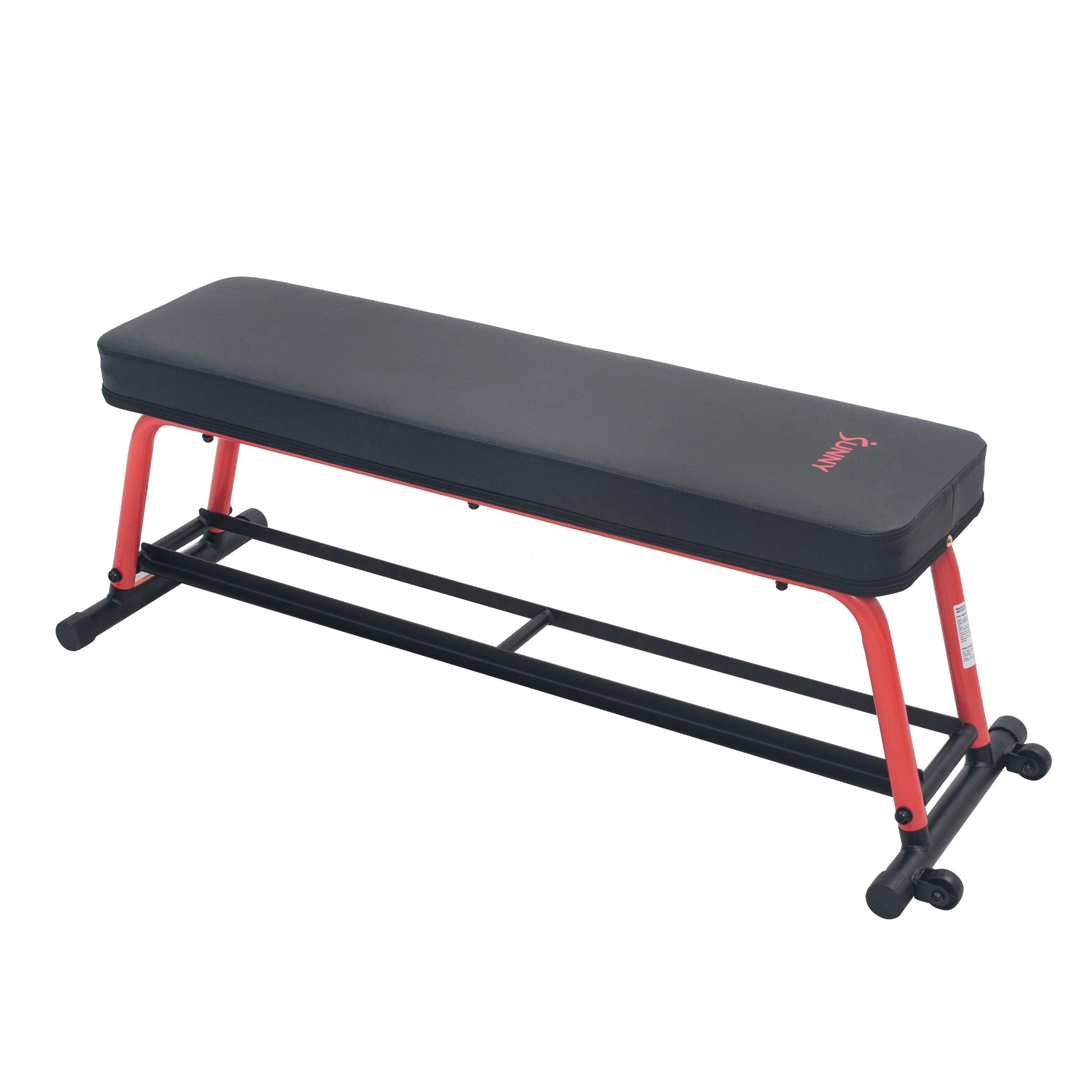 sunny-health-fitness-strength-power-zone-strength-flat-bench-SF-BH6996-high-weight-capacity