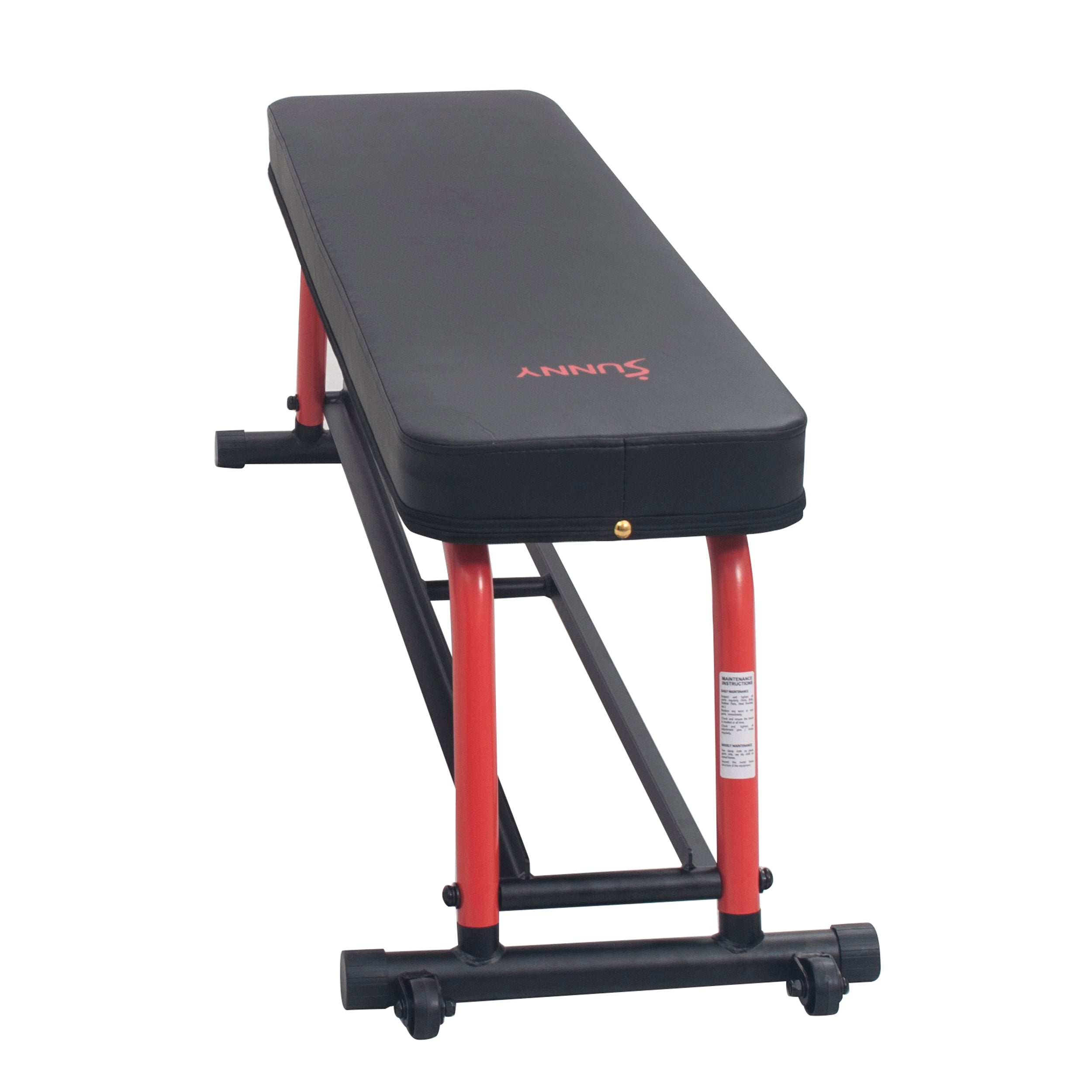 sunny-health-fitness-strength-power-zone-strength-flat-bench-SF-BH6996-versatile