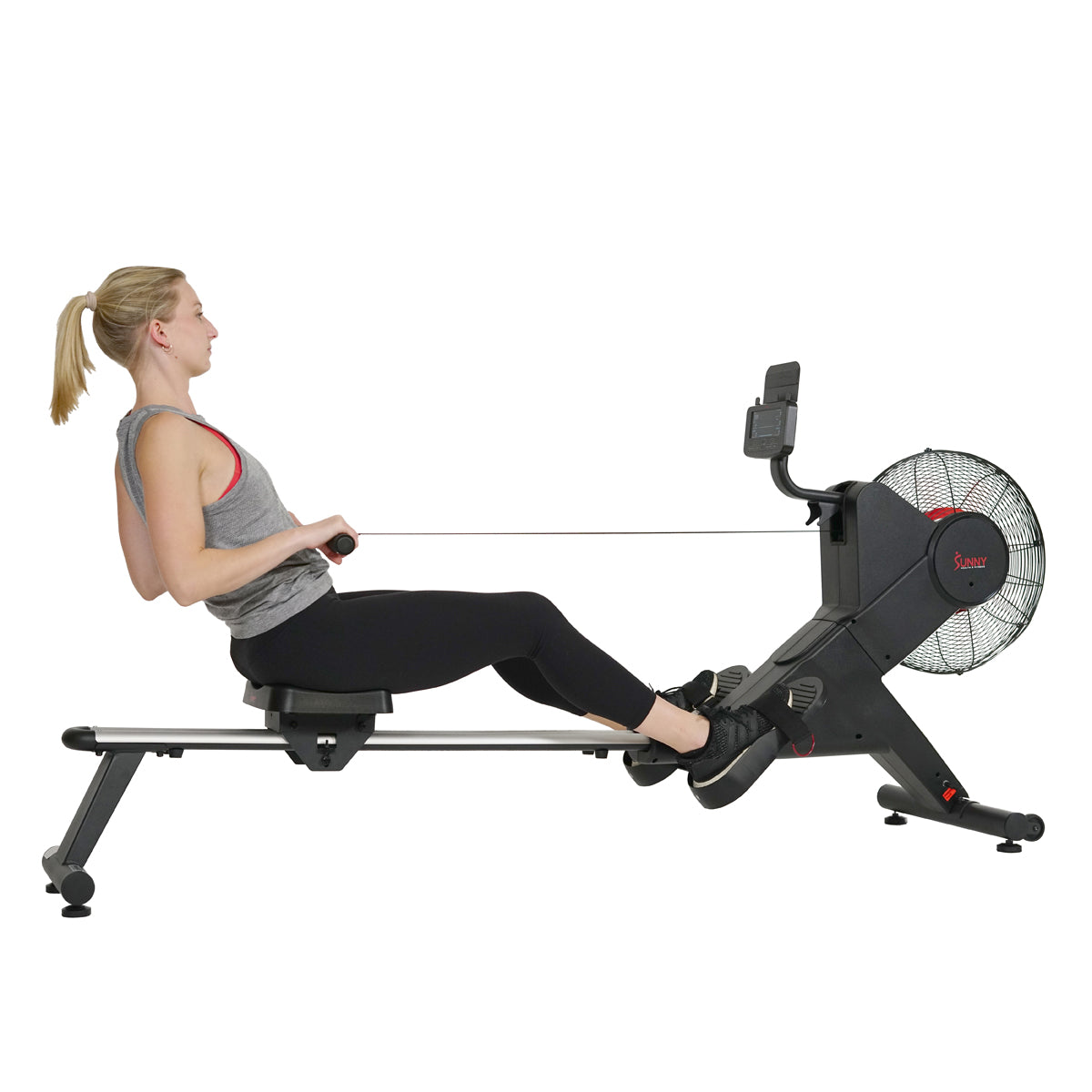 sunny-health-fitness-rower-carbon-premium-air-magnetic-rowing-machine-sf-rw5983-resistance