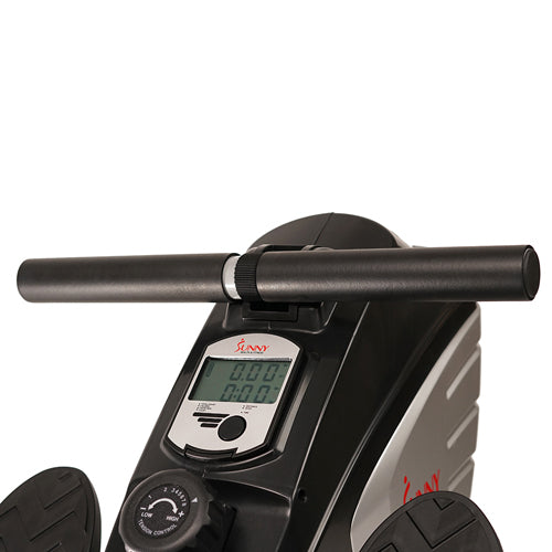 sunny-health-fitness-rowers-dual-function-magnetic-rowing-machine-rower-LCD-monitor-SF-RW5622-handlebar