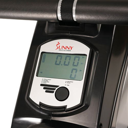 sunny-health-fitness-rowers-dual-function-magnetic-rowing-machine-rower-LCD-monitor-SF-RW5622-monitor