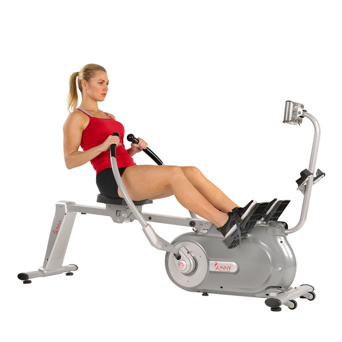 sunny-health-fitness-rowers-full-motion-magnetic-rowing-machine-rower-LCD-monitor-SF-RW5864-full-motion-arms