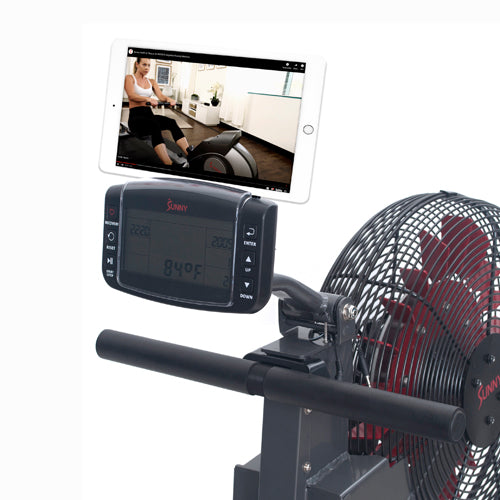 sunny-health-fitness-rowing-machine-phantom-hydro-water-rowing-machine-SF-RW5910-device-holder