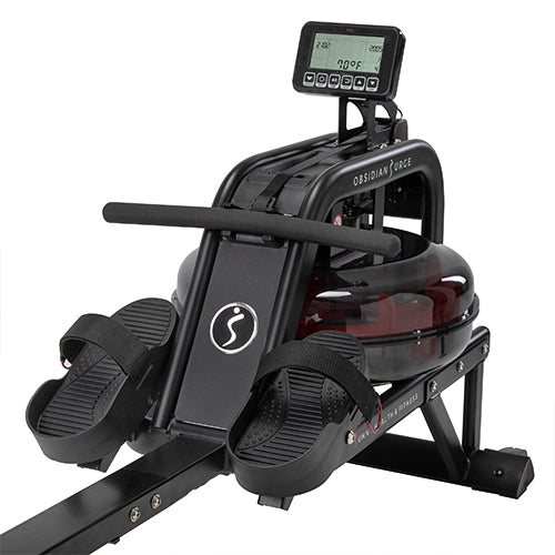 sunny-health-fitness-rowers-obsidian-surge-water-rowing-machine-rower-LCD-monitor-SF-RW5713-design