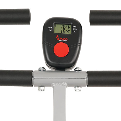 sunny-health-fitness-rowers-upright-row-n-ride-rowing-machine-NO.077-Monitor