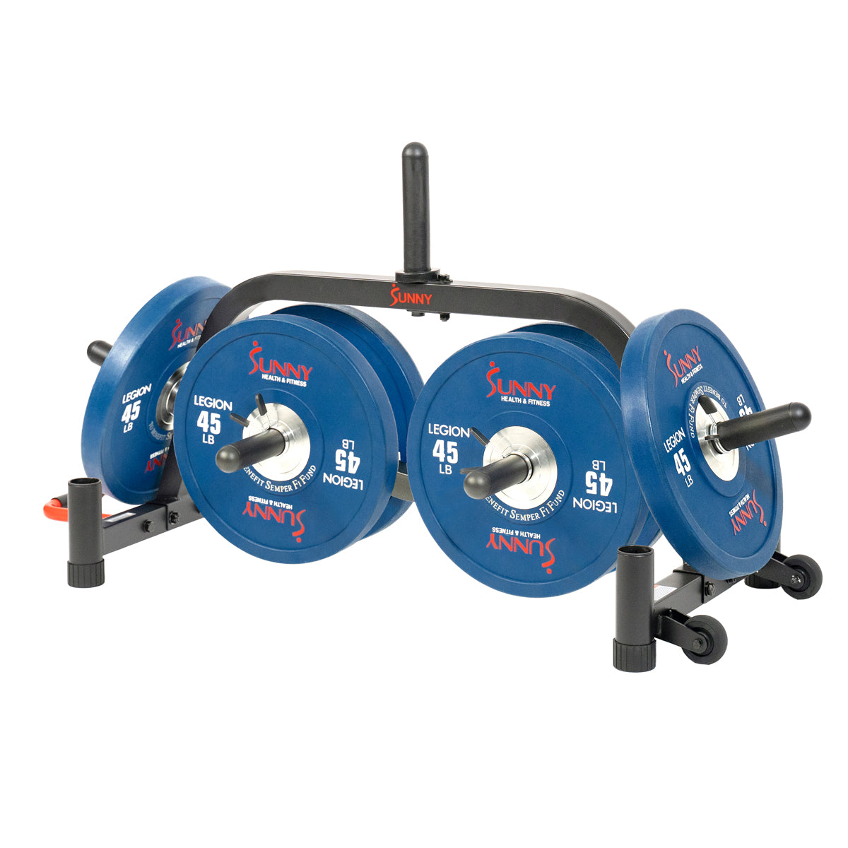 sunny-health-fitness-strength-weight-plate-rack-SF-XF9938-Multi-Storage