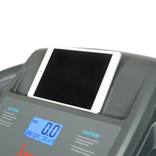 sunny-health-fitness-treadmills-heavy-duty-walking-treadmill-350lb-capacity-SF-T7643-deviceholder