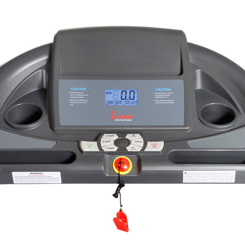 sunny-health-fitness-treadmills-heavy-duty-walking-treadmill-350lb-capacity-SF-T7643-monitor