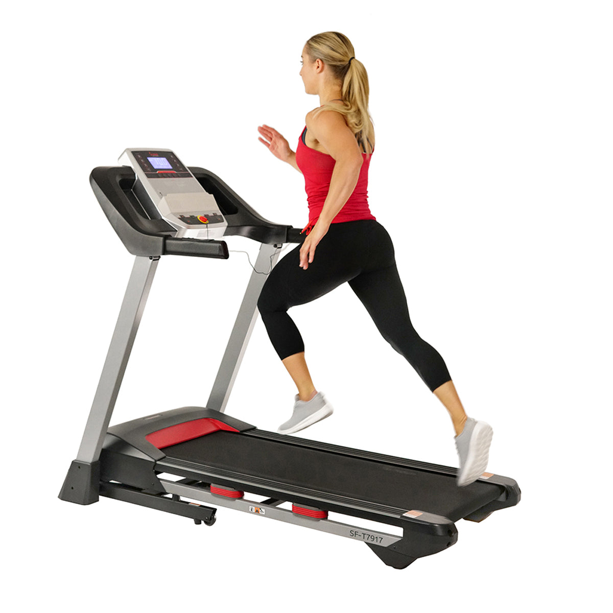 sunny-health-fitness-treadmills-incline-treadmill-bluetooth-speakers-USB-charging-function-SF-T7917-deck