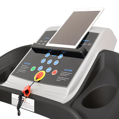 sunny-health-fitness-treadmills-treadmill-manual-incline-LCD-display-SF-T4400-tabletholder