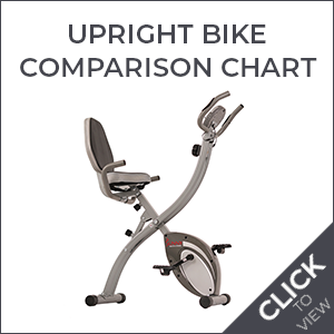 Upright Bike Comparison Chart
