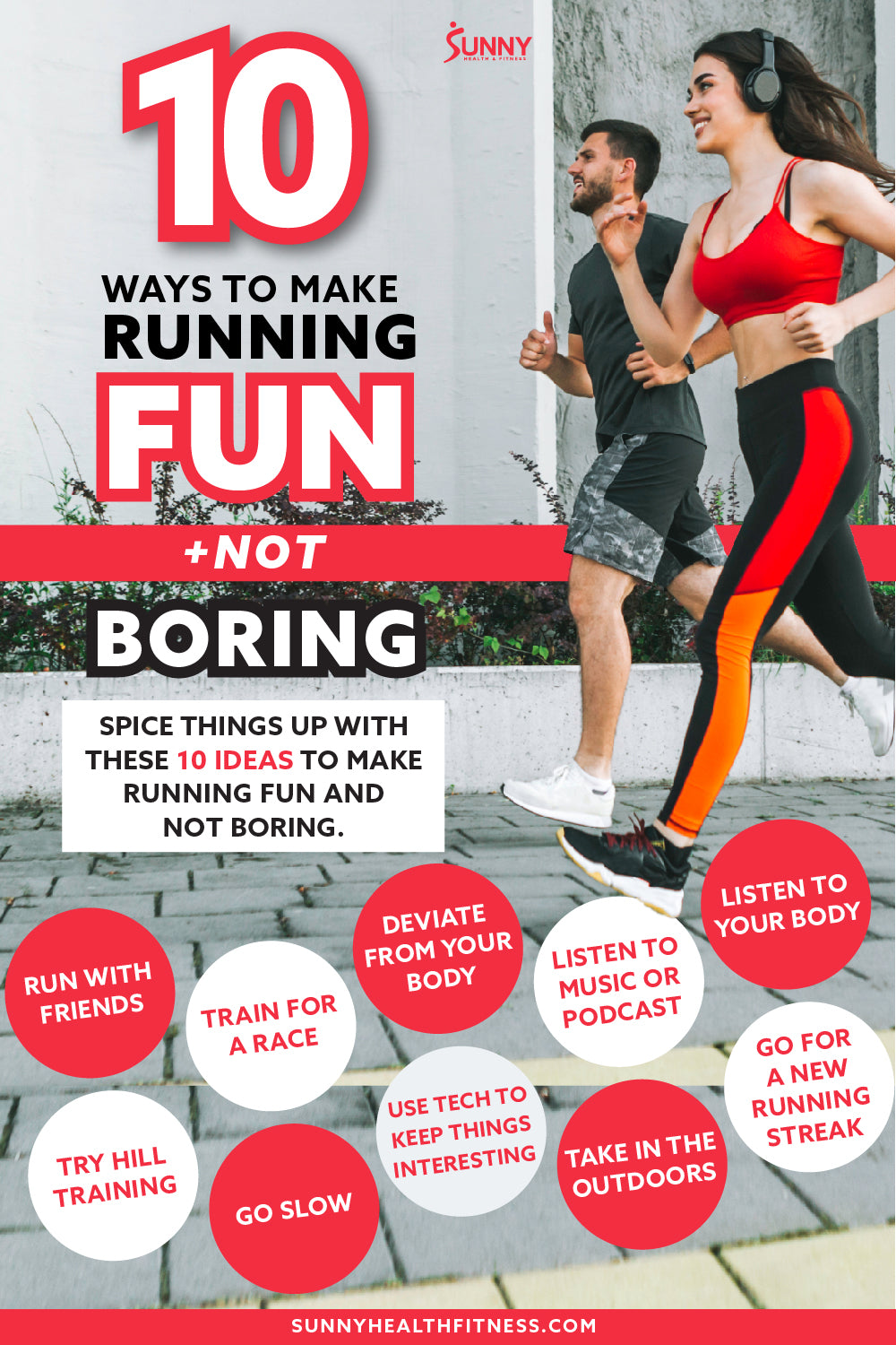 10 Tips for How to Have Fun Running Sessions