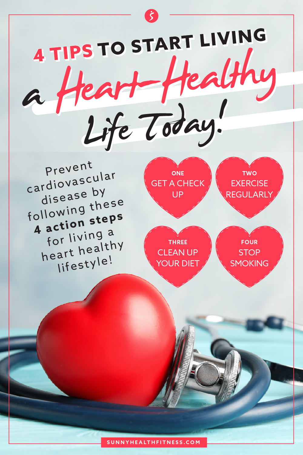 Healthy Heart Tips Infographic