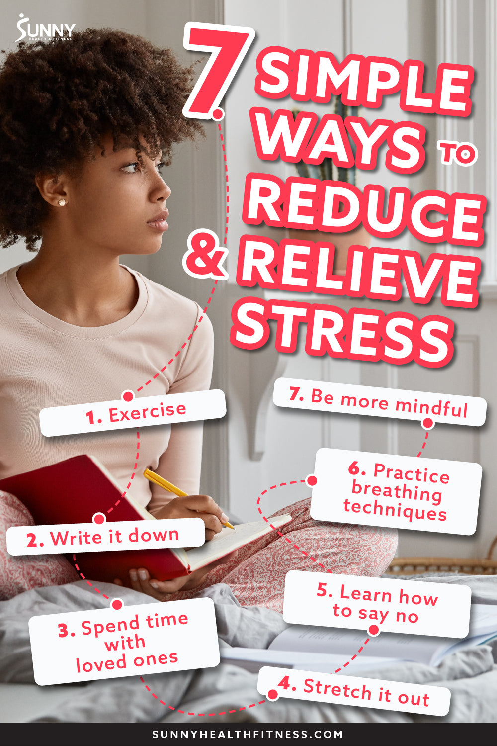 How To Reduce & Relieve Stress in 7 Simple Ways