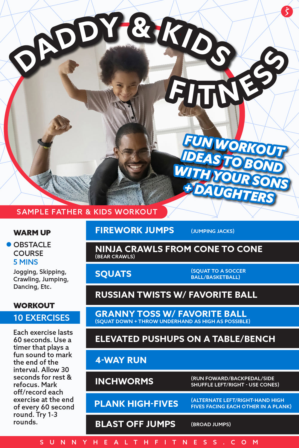 Best Workouts To Do for Fathers to Bond with Sons and Daughters