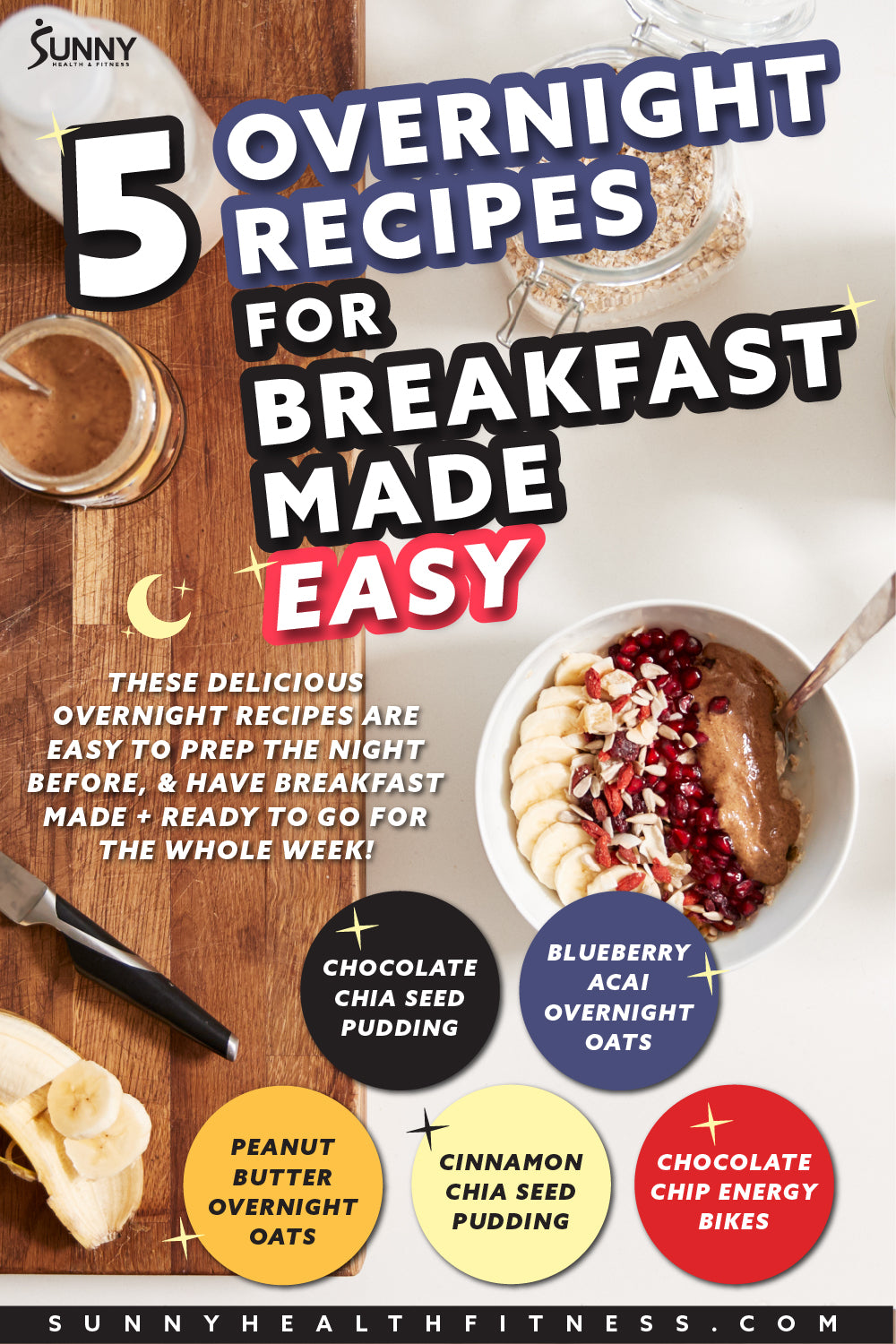 What Are 5 Easy Overnight Recipes for Breakfast
