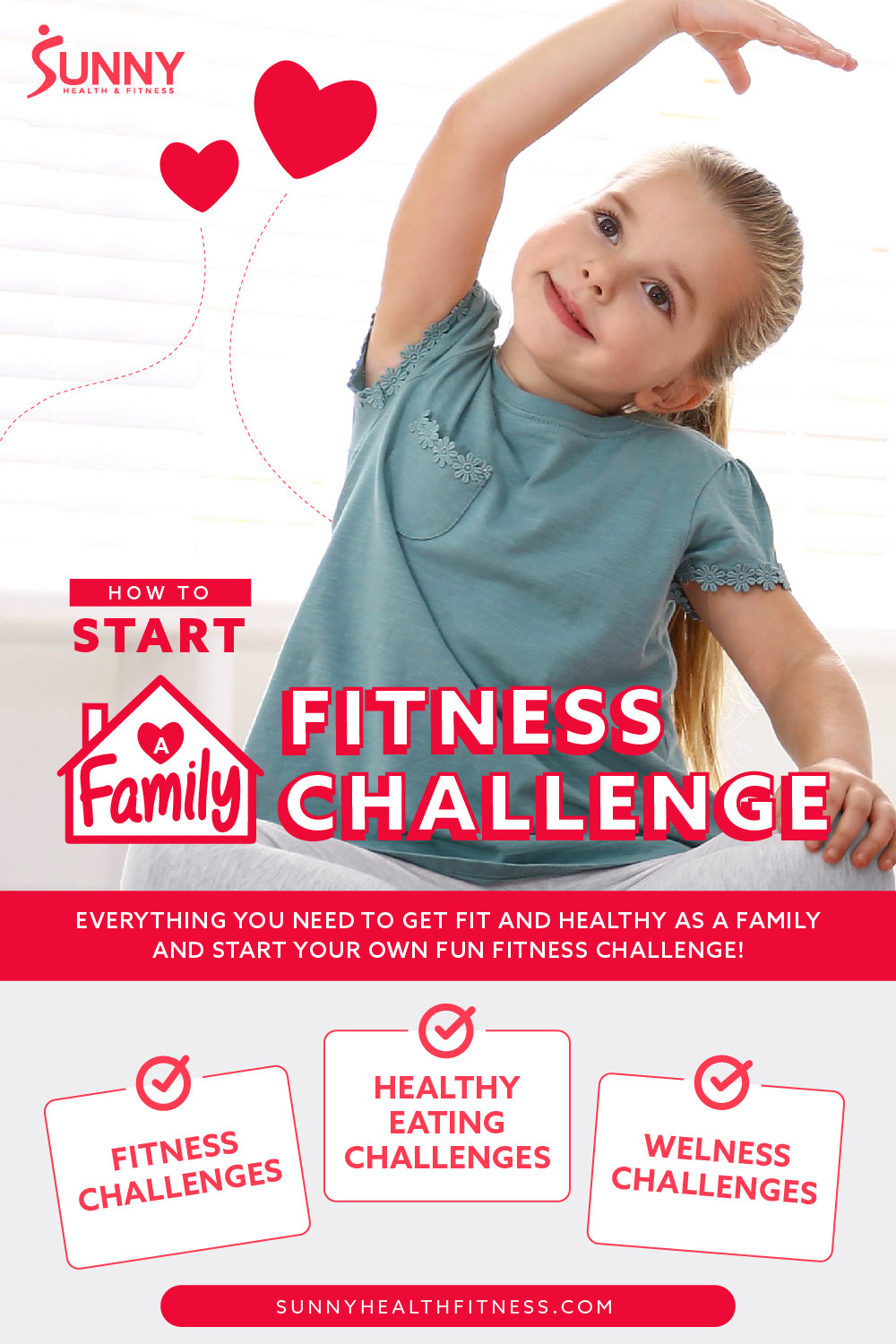How to Start Family Fitness Challenge