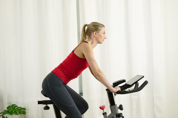 Practice Proper Posture Form While Riding on Your Exercise Bike