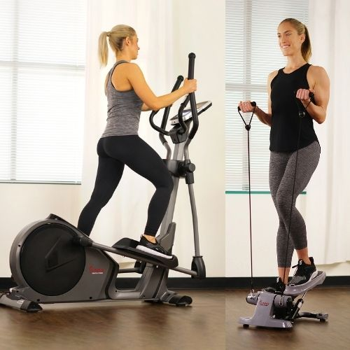 elliptical or mini stepper for toning thighs