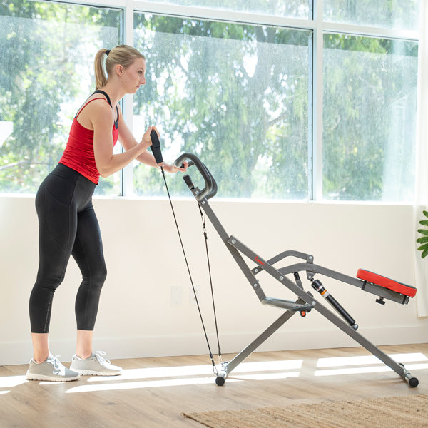Tone Your Arms with Bicep Curls Row-n-Ride Pro Resistance Band Workout