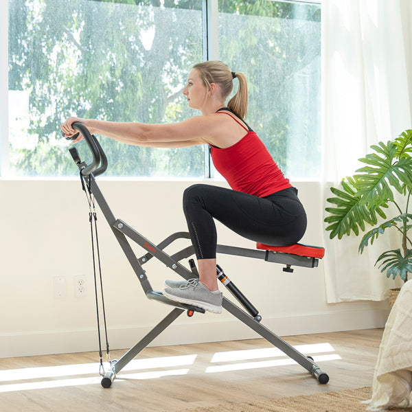 Tone Your Full Body with Row-n-Ride Pro Squat Workout