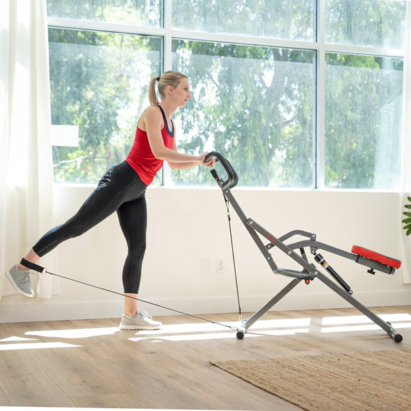 Tone Your Legs with Kickback Row-n-Ride Pro Resistance Band Workout
