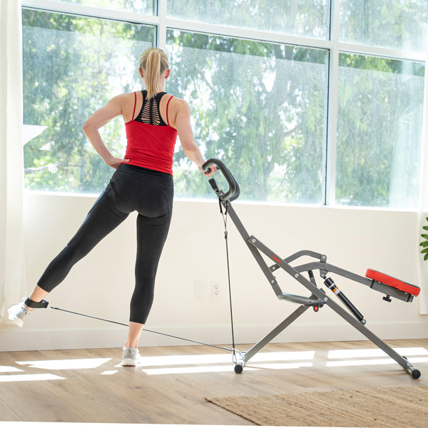 Tone Your Legs with Thigh Kick Row-n-Ride Pro Resistance Band Workout