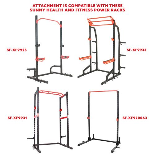 sunny-health-fitness-strength-Lat-Pulldown-Attachement-SF-XF9927- power-zone-series