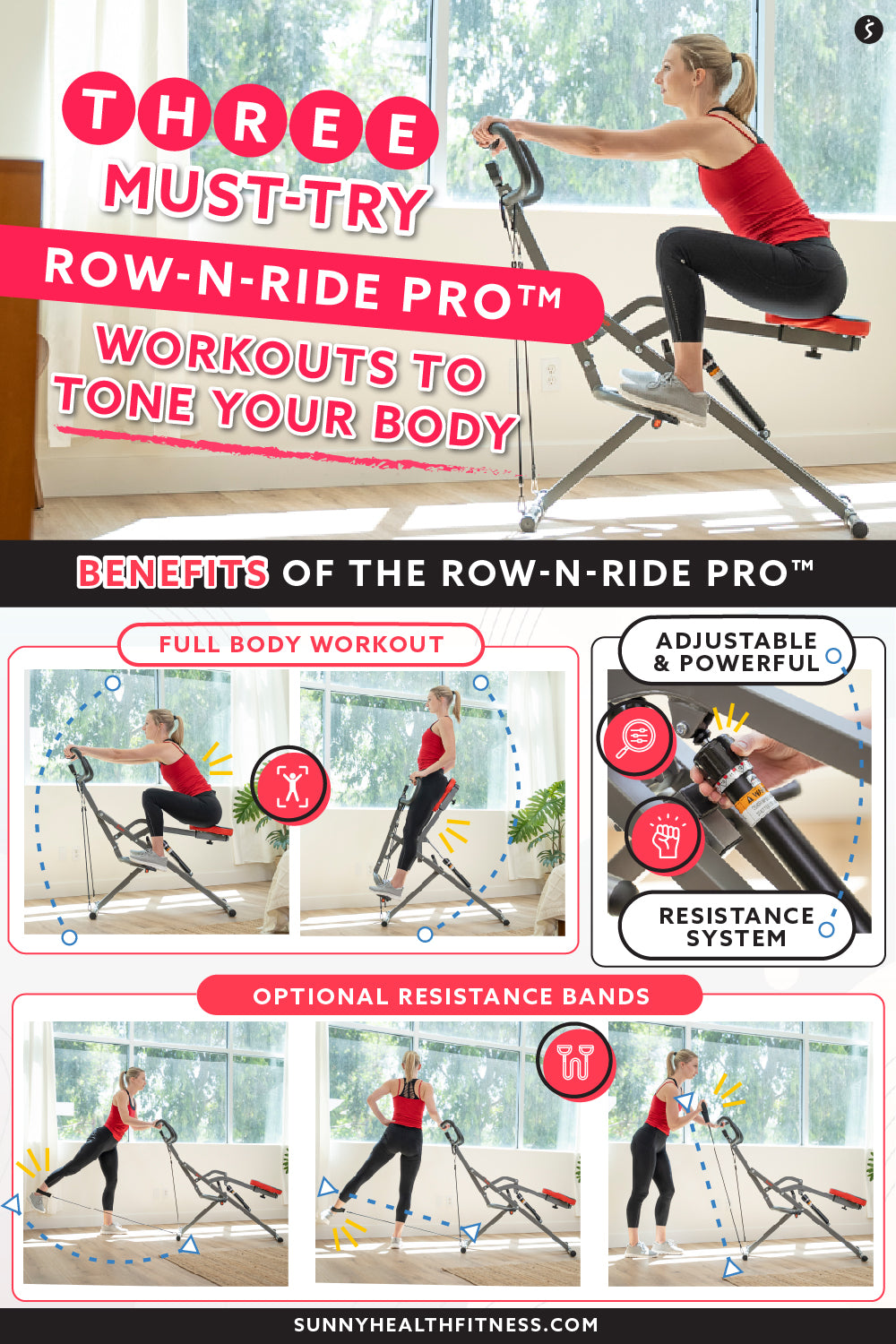 Tone Your Body in Three Must Try Row-n-Ride Pro Workouts
