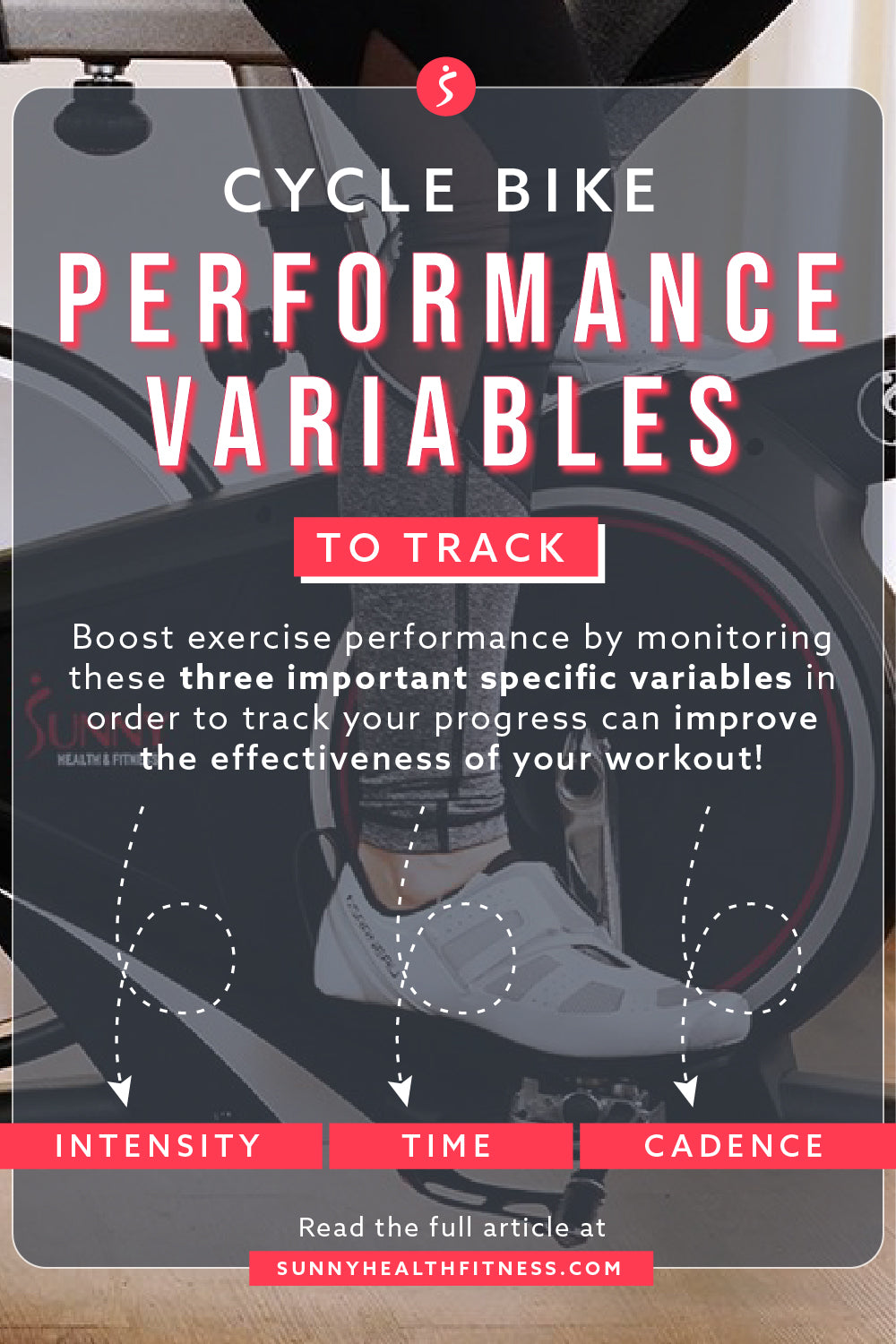 Cycle Bike Performance Variables To Track Infographic