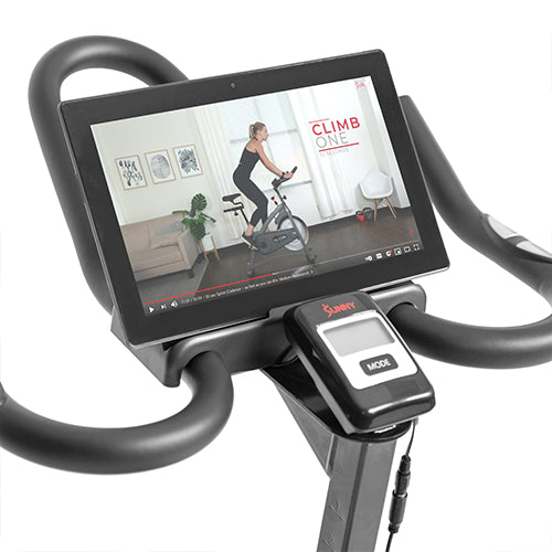 sunny-health-fitness-bikes-endurance-belt-drive-magnetic-indoor-exercise-cycle-bike-SF-B1877-device-holder