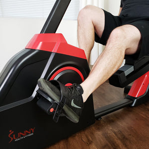 sunny-health-fitness-bikes-evo-fit-cardio-recumbent-bike-SF-RB4954-resistance