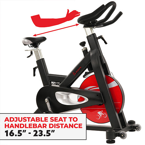 sunny-health-fitness-bikes-evolution-pro-magnetic-belt-drive-indoor-cycling-bike-high-weight-capacity-heavy-duty-flywheel-SF-B1714-fittings