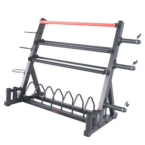 sunny-health-fitness-strength-multifunction-weight-dumbbell-rack-SF-XF920025-Multi-Storage