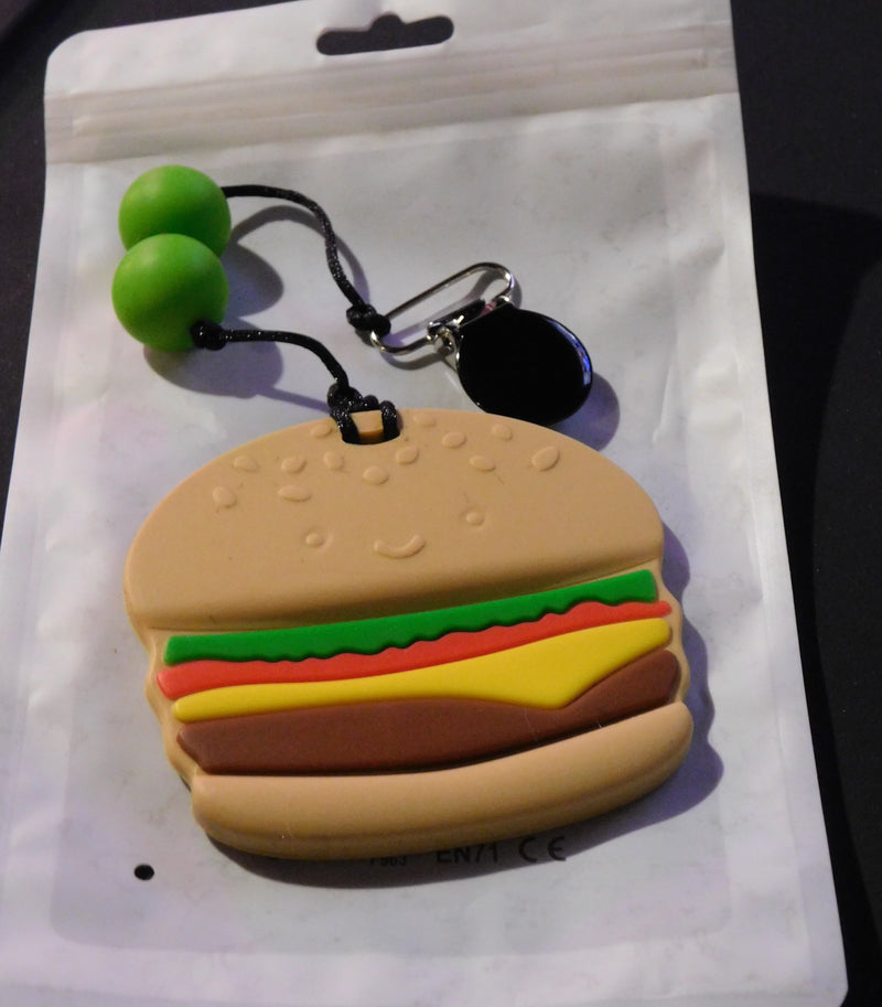 Cheeseburger and Beads Clip On