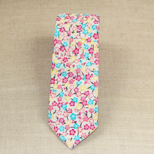 Load image into Gallery viewer, Bright Floral Tie