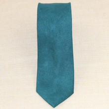 Load image into Gallery viewer, Green Felted Cashmere Tie
